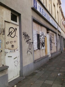 Squatted street in Gent