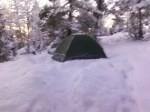 Camping here in January??