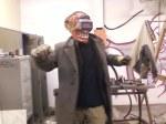 Pete in welding-fervor