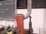 Flue (both parts welded together)
