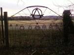 Bike-chain gate