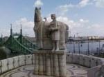 Bizarre statue