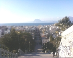 view from the castle steps