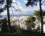 Patras from the park