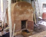 The new cob oven
