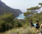 View of Kabak Beach