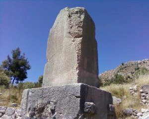 Large Lycian tomb