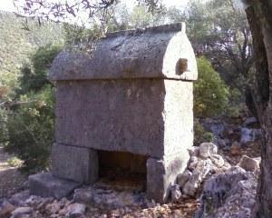 Lykian tomb