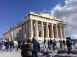 Parthenon, on Acropolis rock