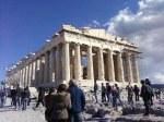 Parthenon, on Acropolis rock