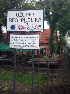 Welcome to Užupio!