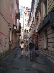 A side-street in Lviv