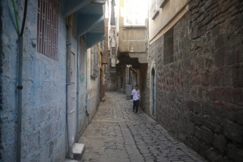 In the oldest part of Diyarbakır