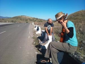 Georgian border, no traffic