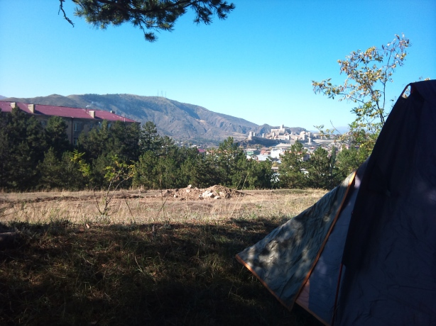 Camping place in Akhaltsikhe