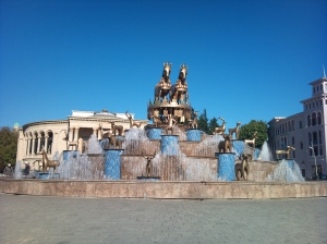 Crazy fountain at Kutaisi