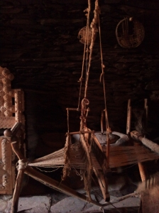 Old loom in the Ethnographic Museum
