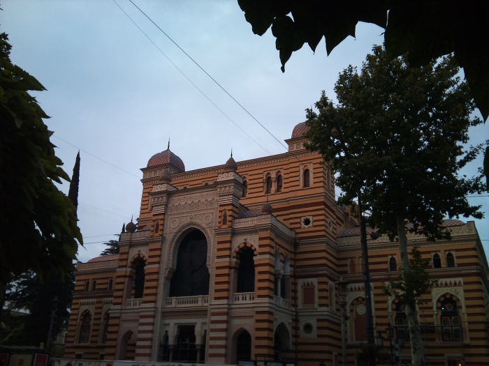 Theatre-the most beautiful building in Tbilisi