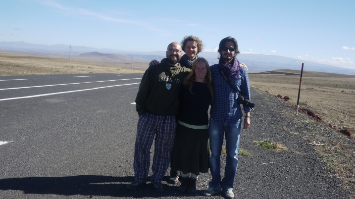 On the road to Ani