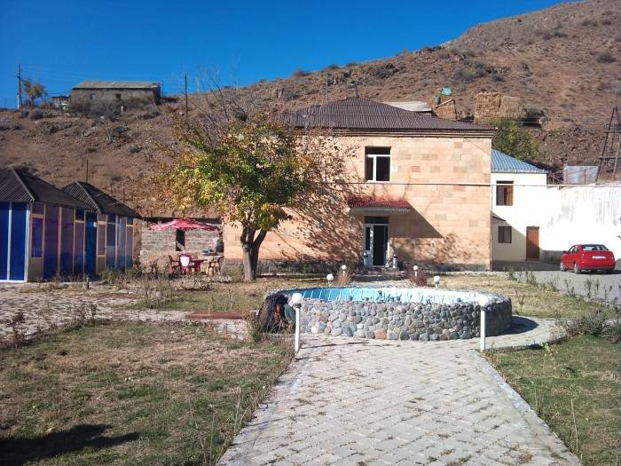 The hotel we stayed in at Sisian