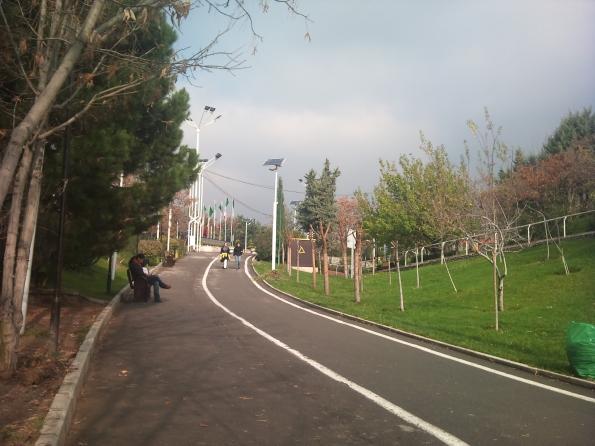 Women-only park