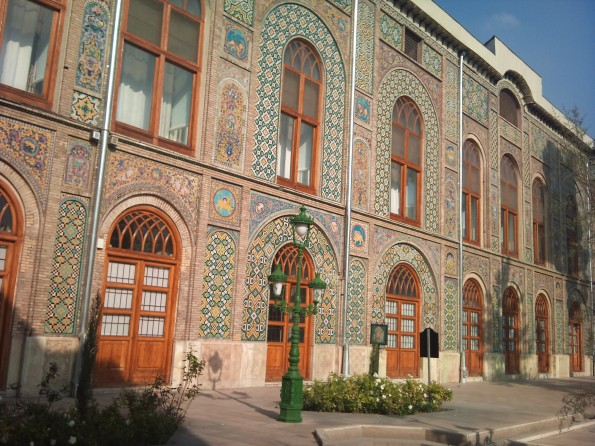 Golestan Palace: my one tourist attraction in Tehran