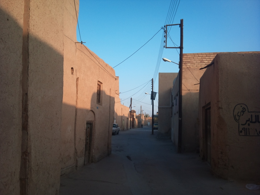 Streets of Yazd