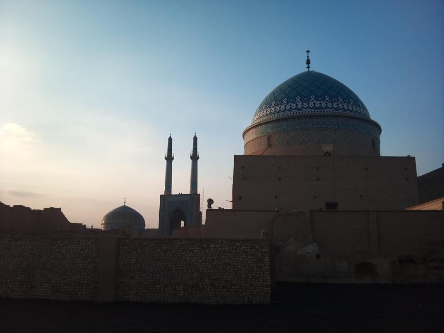Masjid-e-Jāmeh Mosque, Yad
