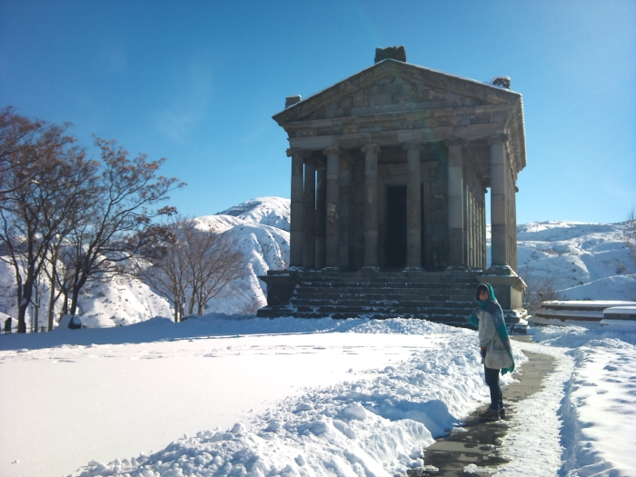 Garni Temple - dating to the 1st Century AD
