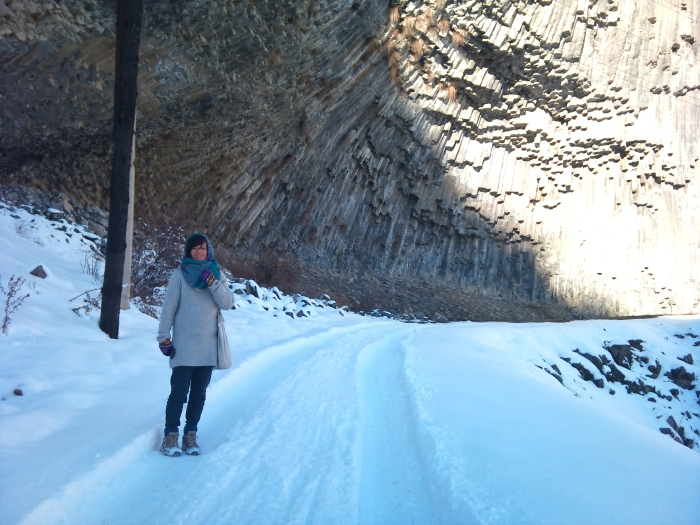 "The ""Stone Symphony"" in Garni Gorge"