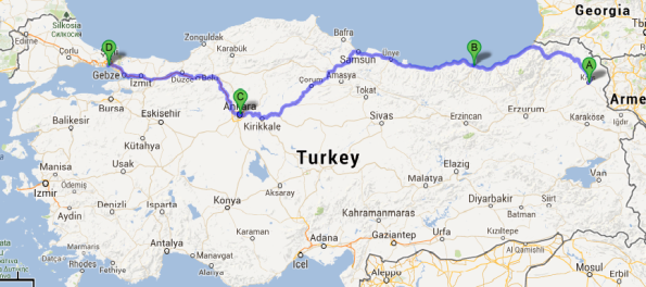 A Winter Journey Across Anatolia