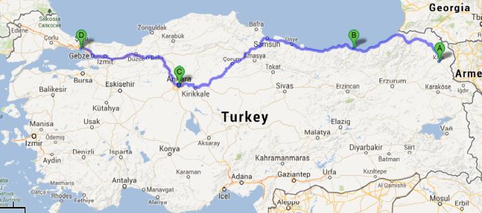A Winter Journey Across Anatolia