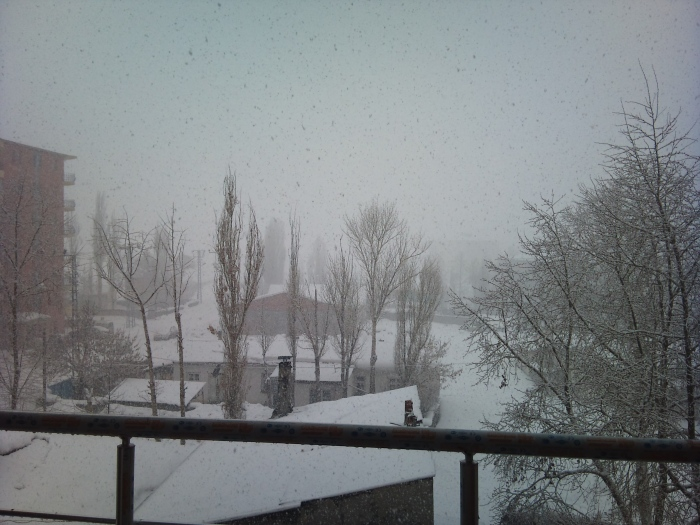 View from Halil's window, Kars