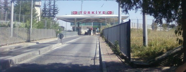 Turkish border, though not the one we crossed. I was too tired to take photos.
