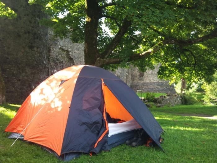 Scotland, wild camping, Inverlochy Castle