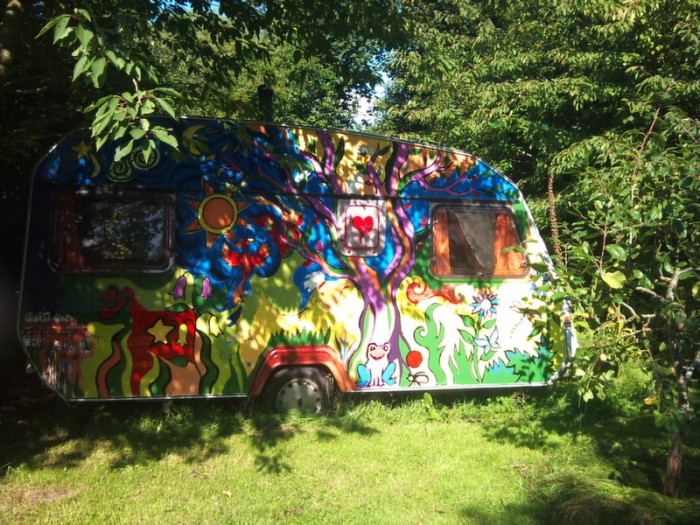 Caravan, Tain, Scotland