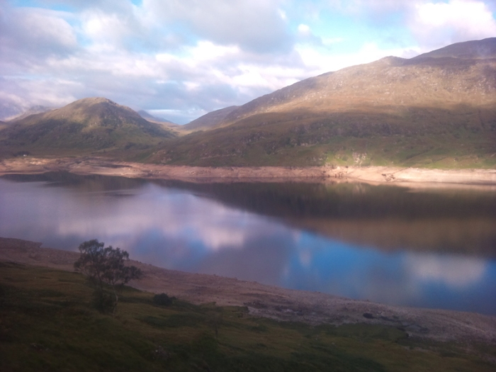 Scotland, train, West Highland Line
