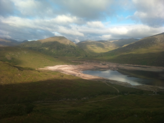 Scotland, train, West Highland Line