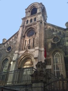 The Armenian Protestant Church in Tarlabaşı