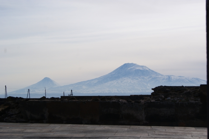 Armenia, Zvartnots, ruins, history, hitchhiking, adventure, beautiful, Ararat, mountain