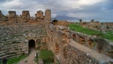 Turkey, hitchhiking, Anemurium, hisory