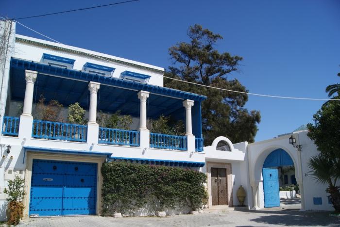 Tunisia, Tunis, Sidi Bou-Said