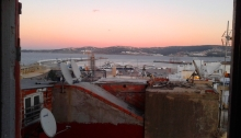 Tangier, Tanger, Tangiers, Morocco, Africa, sunset
